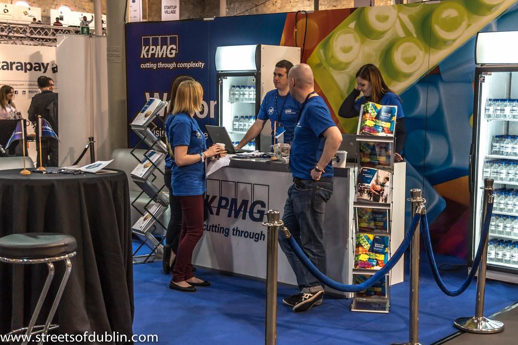 KPMG: Web Summit 2012 In Dublin (Ireland)