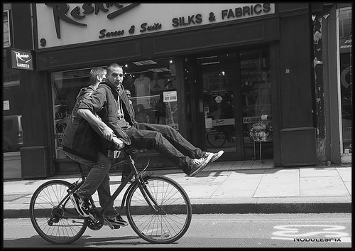 Bicycle made for two...