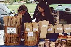 tasty artisan bread for sale (NatalieShockleePhotography) Tags: life morning autumn fall bread yum baguettes farmers market markets saturday tasty columbia fresh mo missouri farmer sat homegrown grown ciabatta