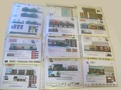London bus garages (kingsway john) Tags: kingsway models card kits 176 scale building bus garage londontransportmodel model diorama oo gauge miniature