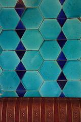 Restaurant Wall (notFlunky) Tags: color colour turkey republic trkiye spice tiles bazaar turkish byzantine constantinople