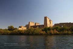Philae, Temple of Isis (blauepics) Tags: world heritage water architecture river landscape island temple site wasser stones egypt unesco nile insel steine architektur nil philae fluss landschaft isis ägypten tempel weltkulturerbe