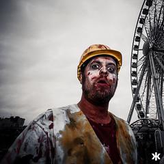 Wheel of Misfortune (Dade Freeman) Tags: blood brighton zombie horror zombiewalk beachofthedead dadefreeman krysalisphotography