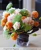 Armature Dahlia vase design (Scrumptious Venus) Tags: dahlia fall armature avantgarde floraldesign lespritsudmagazine vasedesign wwwlespritsudmagazine floraldesignanddecor lespritsudfloraldesign