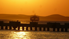 Bozcaada Preview [Ferry to Bozcaada at Sunset] (Andrei'f) Tags: ferry turkey island pier asia jetty minor ferryboat bozcaada asiaminor geyikli abigfave feribotu mygearandme cankkaleprovince