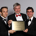 Blackwell Bowick, Halsall, Quinn Dressel, Read Jones Christoffersen accepting an Award of Excellence / Blackwell Bowick, Halsall, Quinn Dressel, Read Jones Christoffersen Ltd. acceptent un prix d'excellence