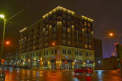 Damp Street (Kansas Poetry (Patrick)) Tags: apartmentcomplex lawrencekansas patrickemerson patrickmissesnancytonight