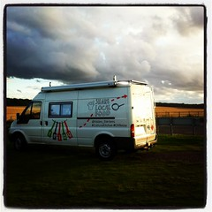 Van in North Berwick