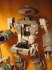 Cabin1 (naugem) Tags: black lego contest manta mech fbtb