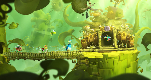 Rayman Legends Toad Story Gameplay Trailer and  Screenshots .Rayman, Globox, and the Teensies are off wandering through an enchanted forest when they discover a mysterious tent filled with a series of captivating paintings. As they look more closely, they