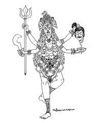 kaali maa (thebarbarians) Tags: kali hindu hinduism maa kaali
