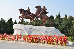 DSC_0558 (yackshack) Tags: travel monument nikon asia asien propaganda north korea explore pyongyang artstudio corea dprk coreadelnorte kimilsung nordkorea jongil d5000 coredunord coreadelnord   pjngjang dvrk