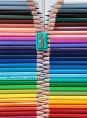 Estuche de pinturas (Explored) (japonica71 (Elena) - Miraver) Tags: design al cole colores diseo vuelta cremallera