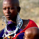 Masai Mother / The Baby Yawns