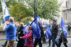 NASUWT members marching in Belfast (nasuwt_union) Tags: nasuwt education conference woman man black white speaking stand hall meal drinks happy members workshop pesident birmingham banner meeting stage positive portrait guidance crowd teachers leaders lectures students awards executive staff show tell help advice support listen adults people england scotland northern ireland wales strong women men insturction health safetly wellbeing classroom school college university table voting union best brilliant workplace seminar