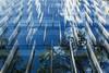 Sustainable Reflexes (M4U) Tags: chile blue santiago sky detail azul canon lights edificios cl flickraward m4u mauricioescalona theauthorsplaza