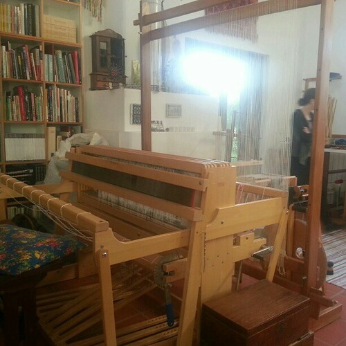 We are staying at a house that has the Loom of Time.
