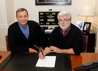 迪士尼買下盧卡斯影業,宣布2015年將上映「星際大戰」七部曲!