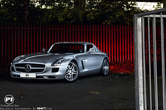 Mercedes SLS AMG Waiting To Be Unleashed - Explored 303 (NWVT.co.uk) Tags: uk light beauty club silver photography mercedes benz nikon waiting long exposure play painted 4 explore international caged be beast to luxury rare sleek supercar sls p1 amg d800 unleashed explored l4p nwvt