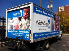 Vehicle Wrap - WaterStep.org