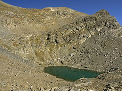025 - Fussy lake (TFRARUG) Tags: mountain lake alps cross hike aosta ibex avic dondena