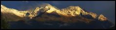 Chugach Sunset (Ed Boudreau) Tags: snow clouds conifer chugachmountains alaskamountains ringexcellence eltringexcellence