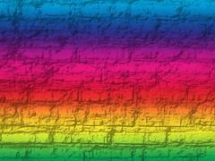 Rainbow Stone Wall Texture