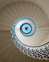 Tulip Staircase (vulture labs) Tags: uk england house london art beautiful lines architecture stairs spiral curves greenwich queens staircase tulip