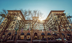 Beverly Wilshire Hotel (isayx3) Tags: street winter sun drive hotel blog nikon angle wide sigma flare rodeo beverly 28 ultra f28 wilshire d800 14mm beverlywilshirehotel isayx3 plainjoestudios plainjoephotoblogcom