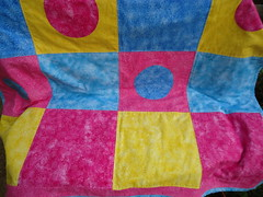 Circles in squares quilt (ZiKiarts) Tags: usa baby paris france kids children us quilt iran circles crafts sony maine hobby fabric enfants 2012 sqares zagros tissus 75020 joanns 2013 zardkuh bazoftforever bazoft zikiarts