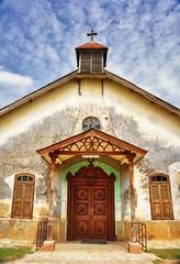 Catholic Church, Ethiopia (Rod Waddington) Tags: africa history church stone facade religious catholic cross religion christian christianity ethiopia harar