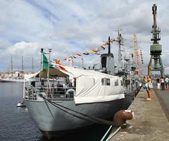 IMG_1613 (Paco Gonzlez1) Tags: puerto muelle corua barco cuttysark 2012 velero tallshipsrace trasatlantico