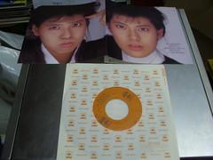 原裝絕版 1987年 9月23日 南野陽子 Yoko Minamino 秋のindication   黑膠唱片 EP 原價  700YEN 中古品 3