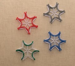 Stars (GloryGreen) Tags: christmas pet green art plastic waste recycle eco