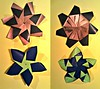 5 And 7 Pointed Floral Stars