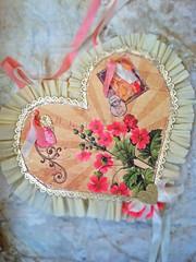 Valentine For Vi (born 2 b creative) Tags: art love collage paper heart handmade craft valentine romance creation 2013