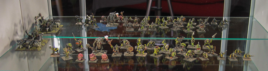 Citadel orcs on display