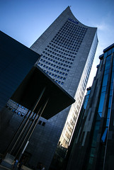 Leipzig (RayKippig) Tags: city building germany deutschland leipzig augustusplatz sachsen highrise uni hochhaus