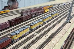 Union Pacific Wyoming Division (twm1340) Tags: railroad arizona scale up electric train layout model gm pacific diesel union az locomotive wyoming ho division custom verdevalley emd gp9 2013 cornville