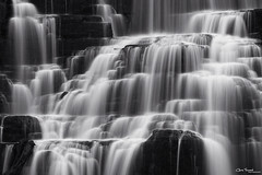 enchantment ([Chris Tennant]) Tags: statepark longexposure blackandwhite bw ny newyork detail water monochrome slow le waterfalls isolation 100400mm silky chittenango 5dmkii christennantphotography