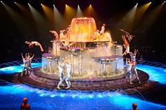 hardest part is yet to come (JonBauer) Tags: show costume nikon theater lasvegas nevada casino handstand aquatic wynn acrobatic d800 thedream lereve lerve francodragone 2470mmf28g