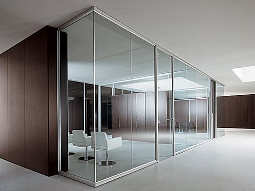 glass partitions fitted in your office to make sure that they are the