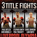 Triple Crown Boxing Poster