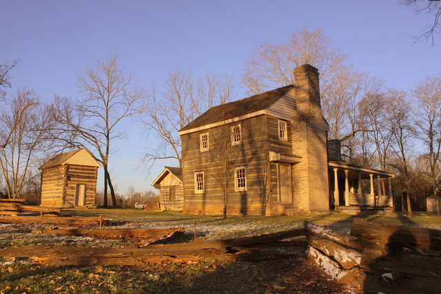 Boyhood Home (and smokehouse)  of Nathan Bedford Forrest