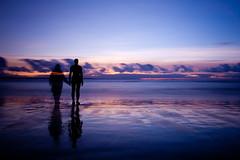 Gormleys Ghost (juliereynoldsphotography) Tags: longexposure sunset sky beach liverpool reflections ghost crosby anthonygormley juliereynolds gormleysmen