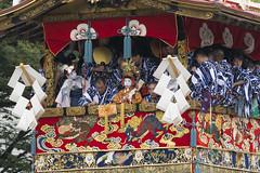 """Gion Matsuri: """"O Chigo-san""""  (Patrick Vierthaler) Tags: festival kyoto san child o parade  kyouto gion float matsuri naginata chigo 2016 hoko boko    yamahoko  naginataboko yamaboko  chigosan"""