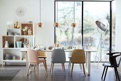 Urban Dining Room (Houseology) Tags: diningroom dining interiors interior interiordesign home homedecor contemporary scandic scandinavian contemporarydesign design muuto copper pantone rosequartz
