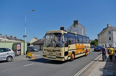Roaring Beauty (Better Living Through Chemistry37) Tags: plymouth leopard publictransport coaches paramount leyland psv plaxton wallacearnold leylandleopard preservedbuses busrallies westhoeroad paramount3200 psu4e4r plymouthbusrally wug127s coachesuk
