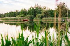 Jezioro Myliborskie (Daniel Zwierzchowski) Tags: summer lake water canon reflections landscape eos rebel 50mm boat fishing outdoor poland polska woda jezioro lato 550d zachodniopomorskie t2i zmy mylibrz eos550d mysliborskie