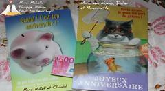 Merci pour vos jolies cartes, votre amiti m'est prcieuse! (liliane776.) Tags: cartes anniversaire